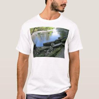Beautiful River Bank Scene T-Shirt