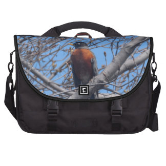 Beautiful Robin Computer Bag