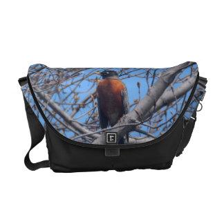 Beautiful Robin Courier Bag