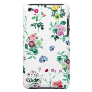 Beautiful romantic Girly Flower Design Barely There iPod Cover