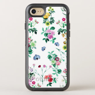 Beautiful romantic Girly Flower Design OtterBox Symmetry iPhone 8/7 Case