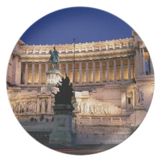 Beautiful Rome, Italy Plate