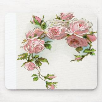 Beautiful Rose Design Mouse Pad