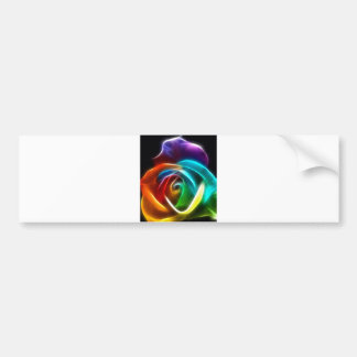 Beautiful Rose of Colors 3 Bumper Sticker
