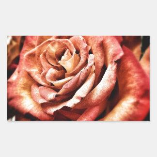 Beautiful Rose Rectangular Sticker