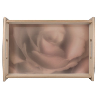 Beautiful Rose Serving Tray