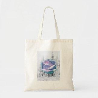 Beautiful Rose Budget Tote Bag