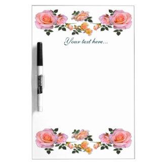 Beautiful Roses Dry Erase Board