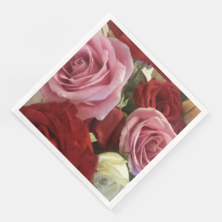 Beautiful Roses Paper Napkins