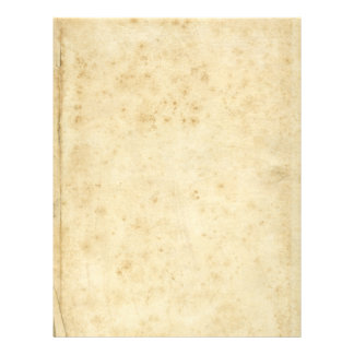 Beautiful Rustic Stained Antique Blank Old Paper 21.5 Cm X 28 Cm Flyer