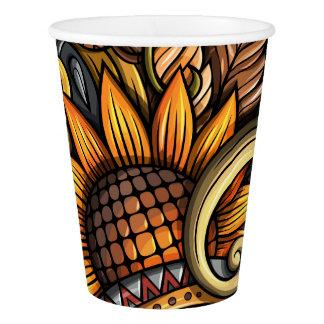 Beautiful Rustic Sunflower Theme Cups