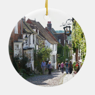 Beautiful Rye in England Christmas Ornament