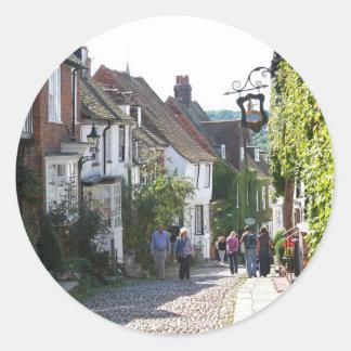 Beautiful Rye in England Classic Round Sticker