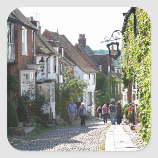 Beautiful Rye in England Square Sticker