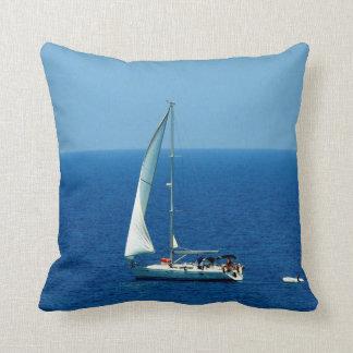 Beautiful Sailboat Cushion