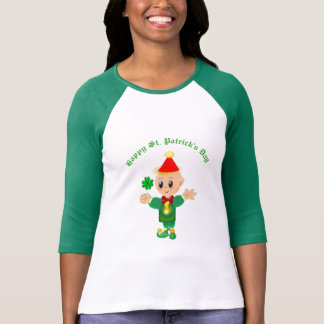 Beautiful Saint Patrick's Day Elf T-Shirt