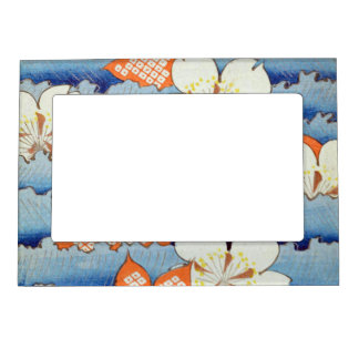 Beautiful Sakura Flower Art Magnetic Picture Frame
