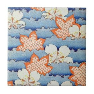 Beautiful Sakura Flower Art Ceramic Tiles