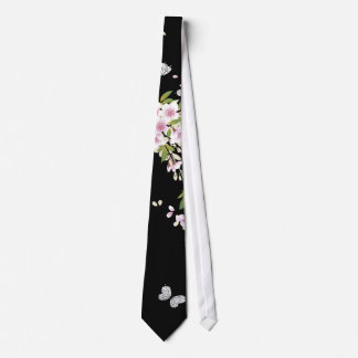 Beautiful Sakura Vintage Japanese Floral Tie
