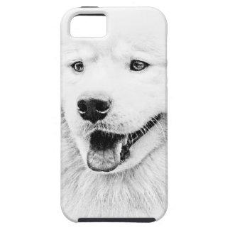 Beautiful Samoyed dog art iPhone 5 Covers