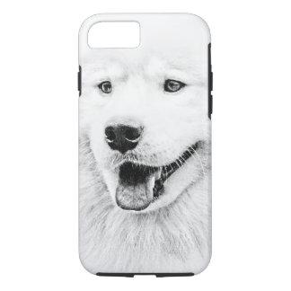 Beautiful Samoyed dog art iPhone 7 Case