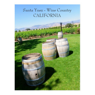 Beautiful Santa Ynez Postcard! Postcard