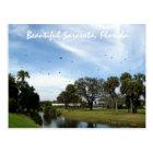 Beautiful Sarasota, Florida Postcard