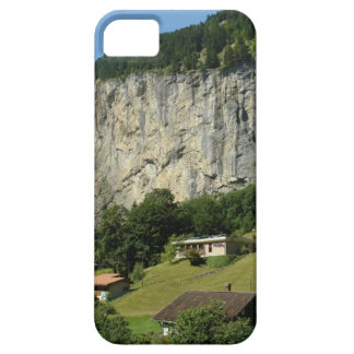Beautiful scenery in Swiss alps iPhone 5 Cover