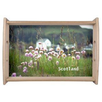 Beautiful Scenic Scottish Landscape Picturesque Serving Tray