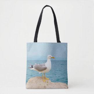 Beautiful Seagull at the Sea Tote Bag