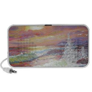 Beautiful Seascape 18x24 canvas oil PC Speakers