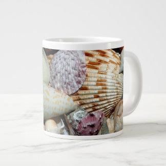 Beautiful Seashells Print Jumbo Mug