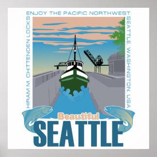 Beautiful Seattle Poster
