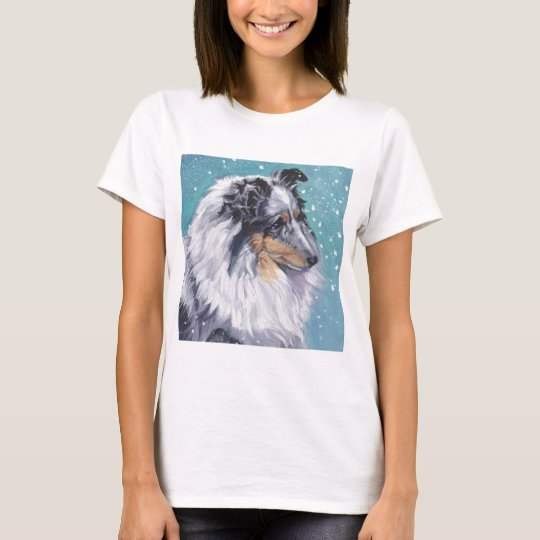 Beautiful Sheltie Shetland Sheepdog Fine Art T-Shirt
