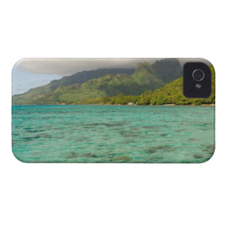 Beautiful Sheraton Resort in Moorea, French iPhone 4 Case-Mate Cases