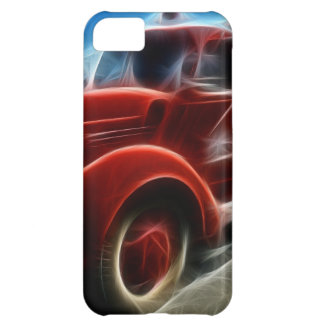 Beautiful Shiny Antique Red Fire Truck Art iPhone 5C Case