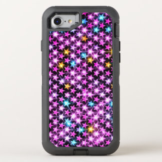 beautiful shiny stars OtterBox defender iPhone 8/7 case