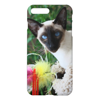 Beautiful Siamese Cat Playing With Toy iPhone 7 Plus Case