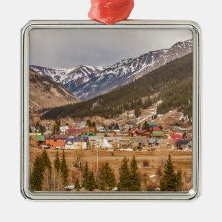 Beautiful Silverton Colorado Christmas Ornament