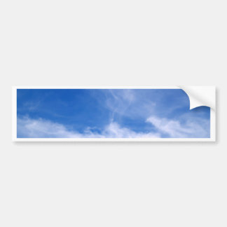 beautiful sky  and  cloud bumper sticker