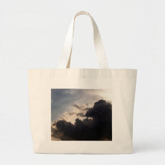 beautiful sky  and  cloud jumbo tote bag