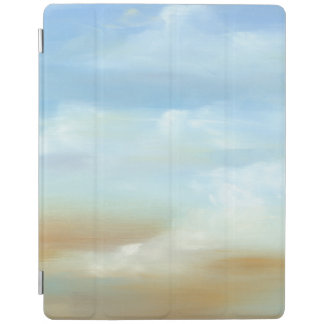 Beautiful Skyscape with Fluffy Clouds iPad Cover