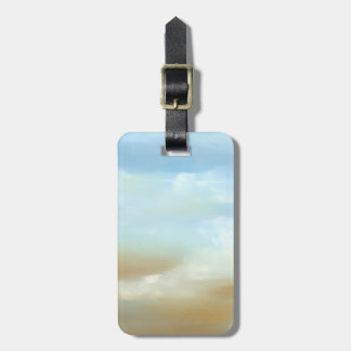Beautiful Skyscape with Fluffy Clouds Luggage Tag