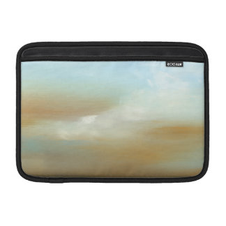 Beautiful Skyscape with Fluffy Clouds MacBook Sleeve