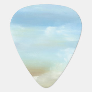 Beautiful Skyscape with Fluffy Clouds Plectrum