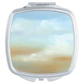 Beautiful Skyscape with Fluffy Clouds Vanity Mirrors