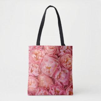 Beautiful small roses tote bag