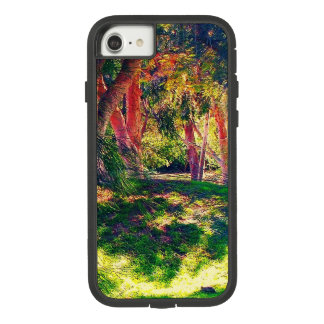 Beautiful smartphone case with mystical forest