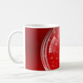 Beautiful snow globe basic white mug