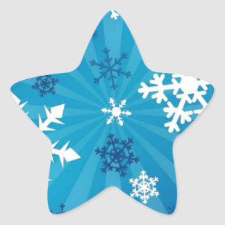 Beautiful Snowflakes Stickers